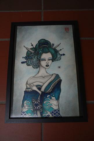 EnTze_Lady in Kimono